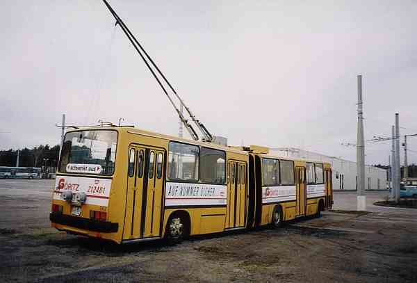 Articulated trolleybuses of the Hungarian type Ikarus 280.93