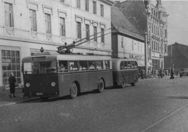 Trolleybus no. 02(II) of the German type KEO I (out of service)